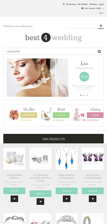 Magento Theme/Template 49062 Main Page Screenshot