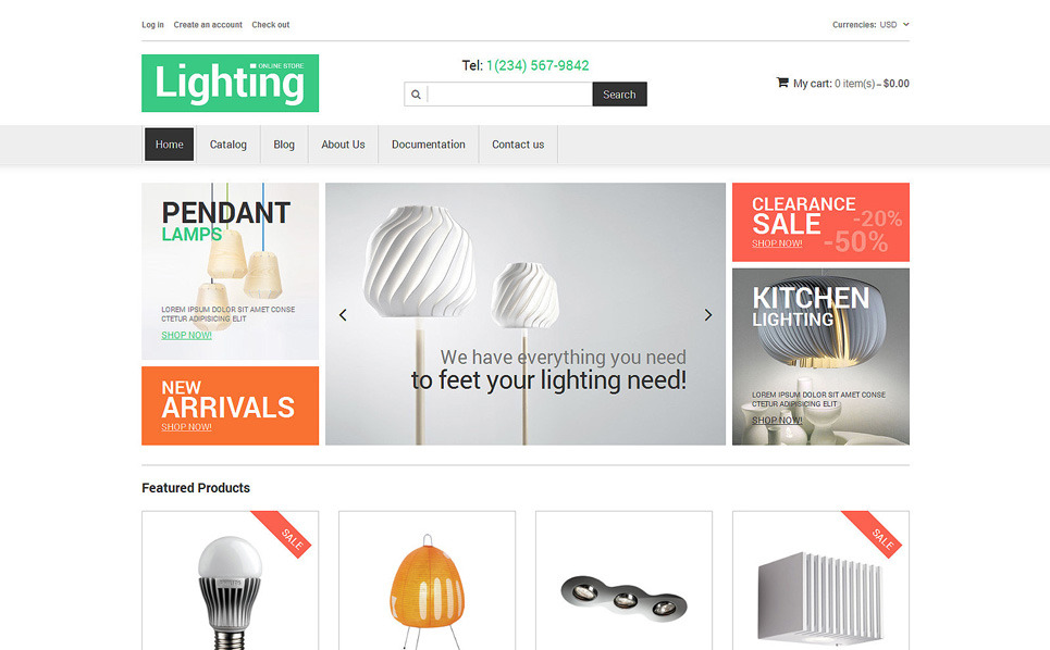 Responsives Shopify Theme für Innenarchitektur  New Screenshots BIG