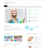 Books Website  Template 49073