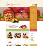 Food & Drink VirtueMart  Template 49075