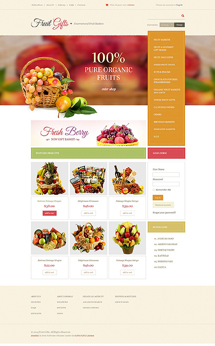 ADOBE Photoshop Template 49075 Home Page Screenshot
