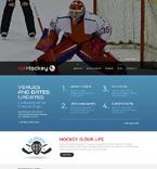Sport Website  Template 49077