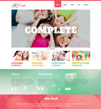 Entertainment WordPress Template 49080