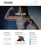 Sport WordPress Template 49083