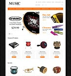Music OpenCart  Template 49090