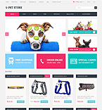 Animals & Pets OpenCart  Template 49092