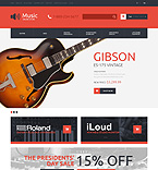 Music OpenCart  Template 49093