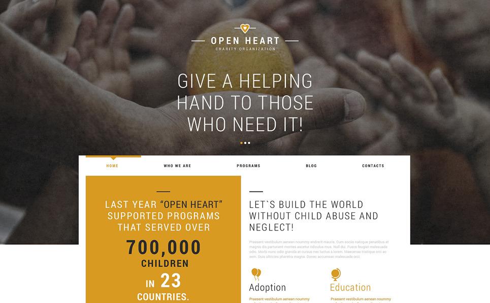 Responsive Joomla Template over Liefdadigheid  New Screenshots BIG
