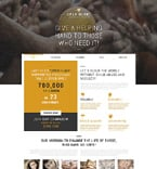 Charity Joomla  Template 49095