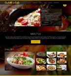 Cafe & Restaurant Joomla  Template 49096