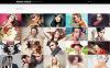 Bootstrap Fényképész portfóliók témakörű  Weboldal sablon New Screenshots BIG