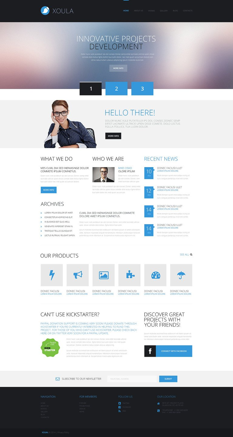 Consulting Responsive WordPress Theme New Screenshots BIG