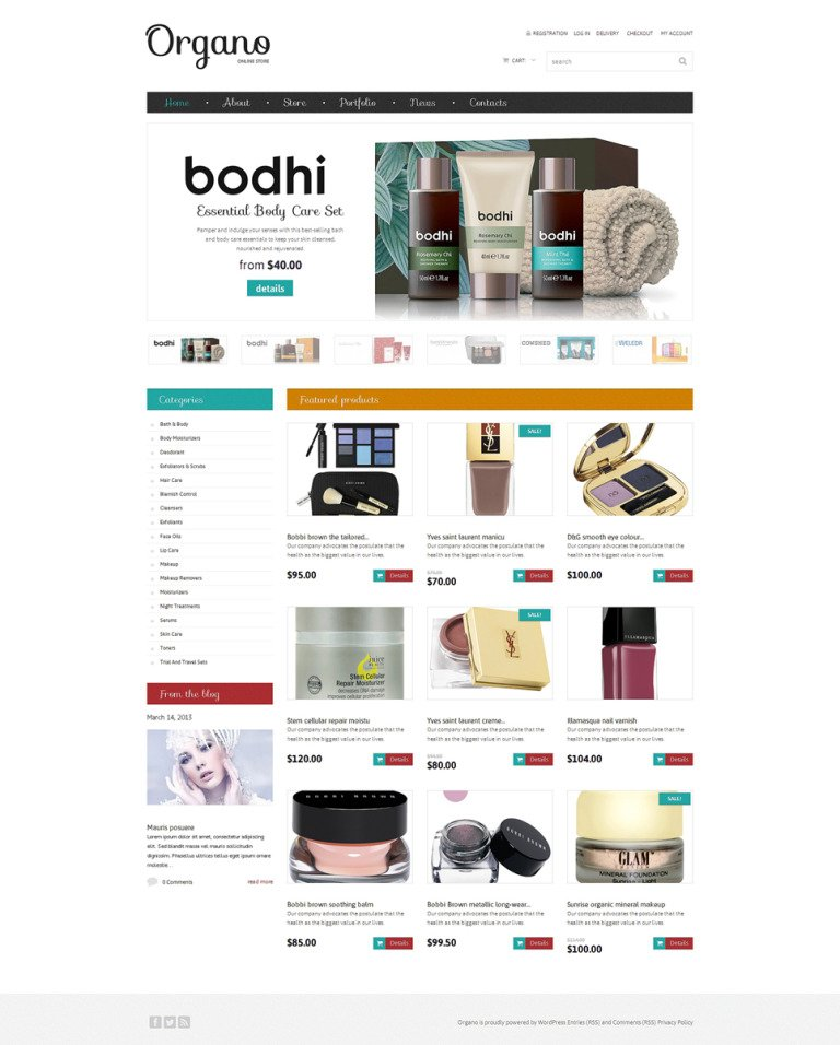 Cosmetics Store Responsive WooCommerce Theme New Screenshots BIG