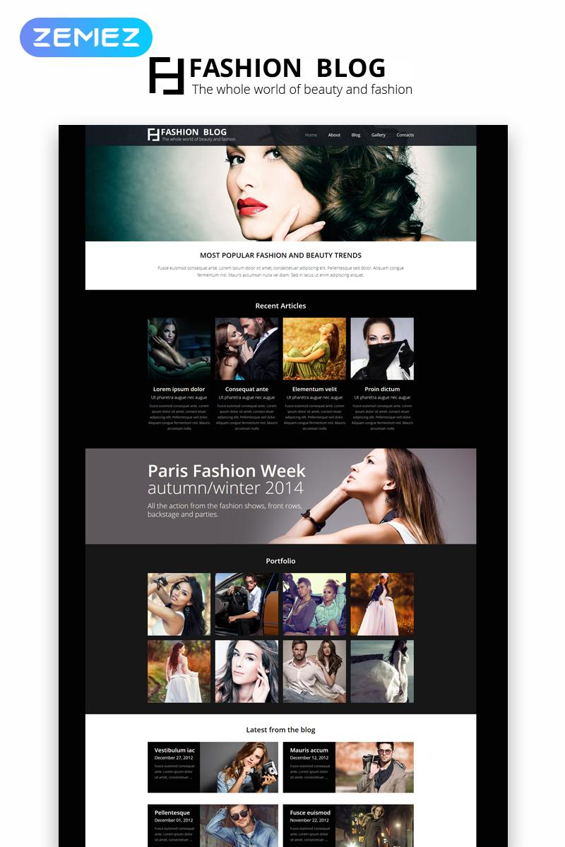Fashion Blog - Fashion Blog Elegant №49094