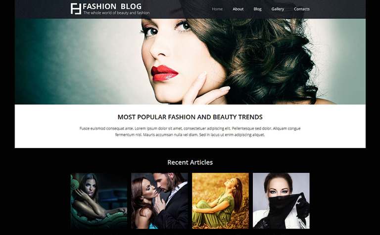 Fashionista's Guide Joomla Template