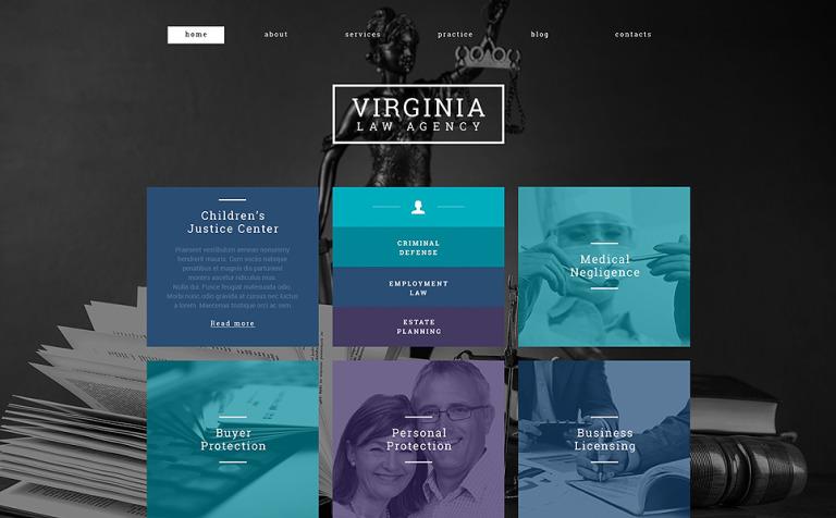Law Firm Responsive WordPress Theme