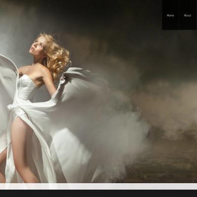 Wedding Album Moto CMS HTML šablona