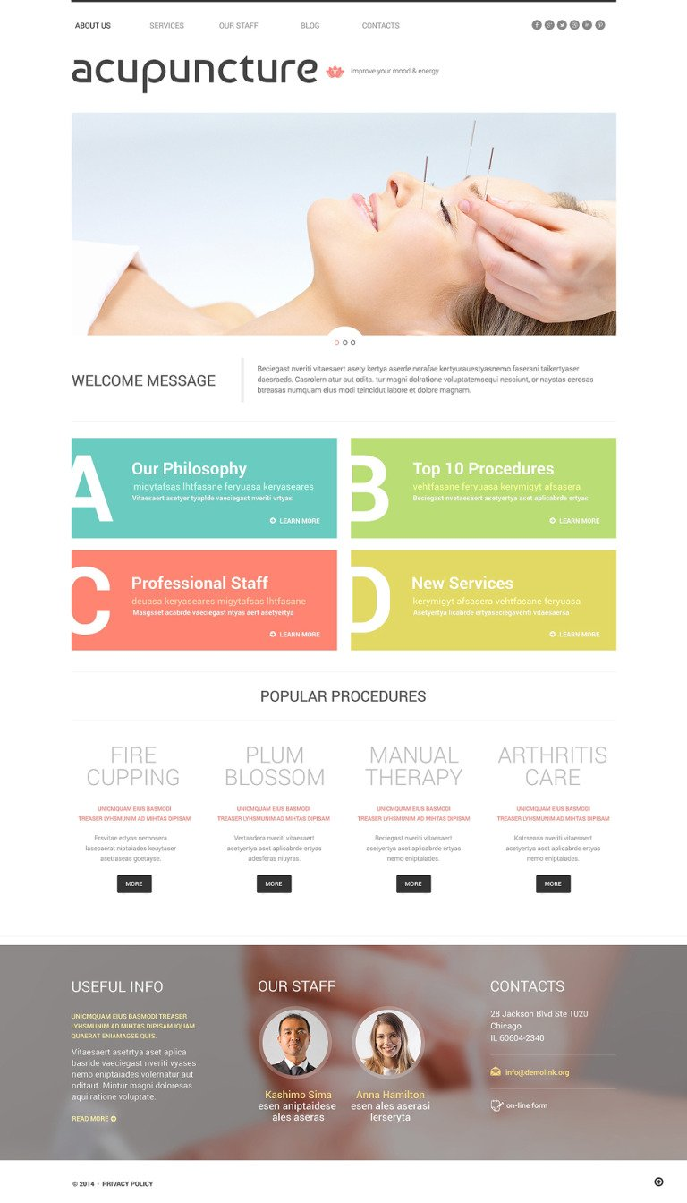 Massage Salon Responsive WordPress Theme New Screenshots BIG