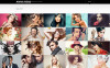 Modèle Web Bootstrap  pour portfolio de photographe New Screenshots BIG