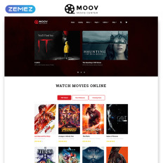 movie website templates