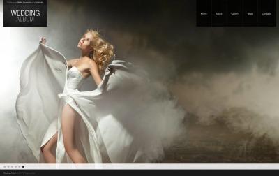 Plantilla Moto CMS HTML #49044 para Sitio de  para Sitio de Álbumes de bodas