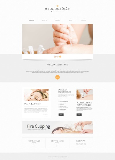 Massage Salon Moto CMS HTML Template