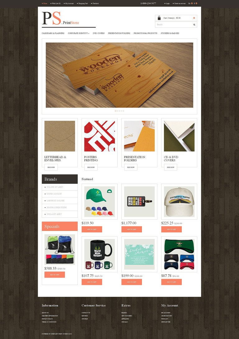 Print Shop Responsive OpenCart Template New Screenshots BIG