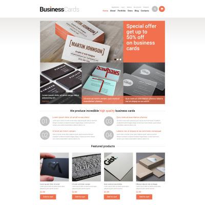 Responsywny motyw WooCommerce #49067 na temat: materiały biurowe