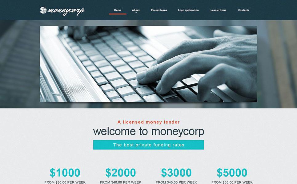 Responsywny szablon strony www #49057 na temat: doradca finansowy New Screenshots BIG