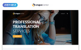 Responsywny szablon strony www Lingvo Center - Translation Bureau Classic Multipage HTML #49017