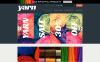 "Template PrestaShop Responsive #49045 ""Knit  Crochet Supplies"" New Screenshots BIG"