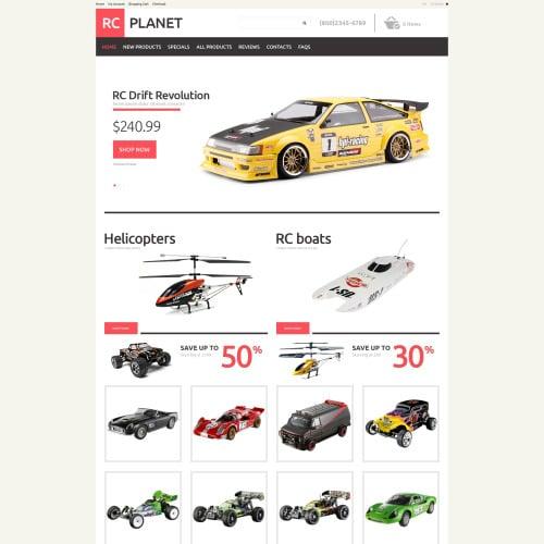 RC Planet - HTML5 ZenCart Template