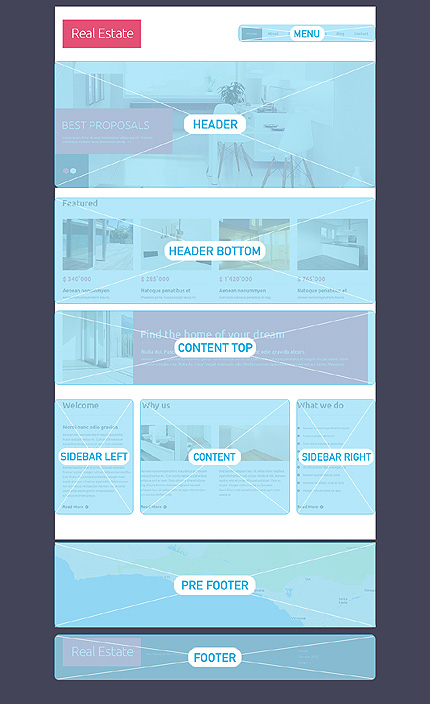 Drupal Template 49100 Main Page Screenshot