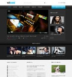 Media Website  Template 49105