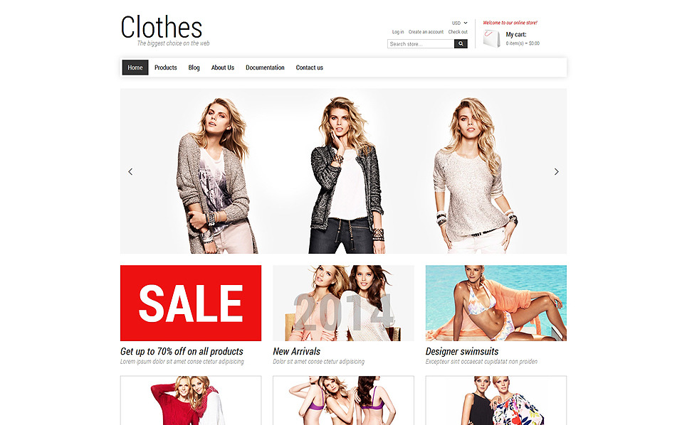 Responsives Shopify Theme für Mode-Shop  New Screenshots BIG