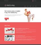 Sport Website  Template 49112