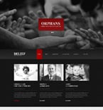 Charity Website  Template 49117