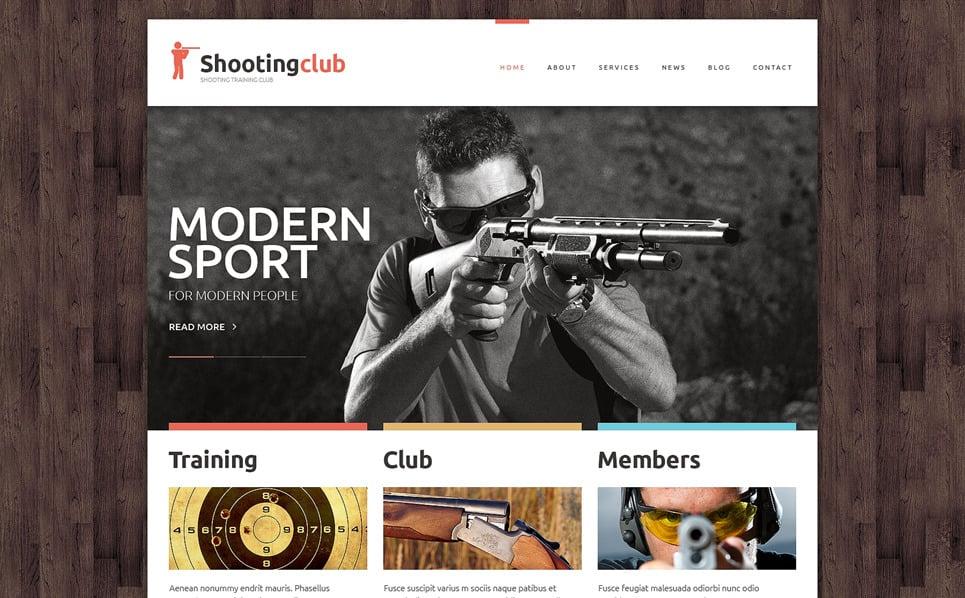 Responsive Website template over Schieten  New Screenshots BIG