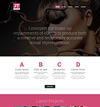 Beauty Website  Template 49135
