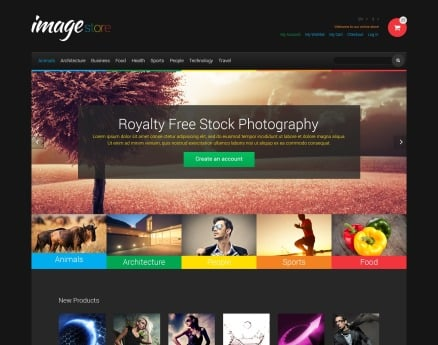 Art & Photography Magento Theme