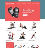 Sport PrestaShop Template 49146