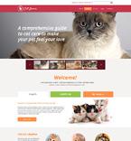Animals & Pets Website  Template 49149