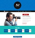 Art & Photography WordPress Template 49155