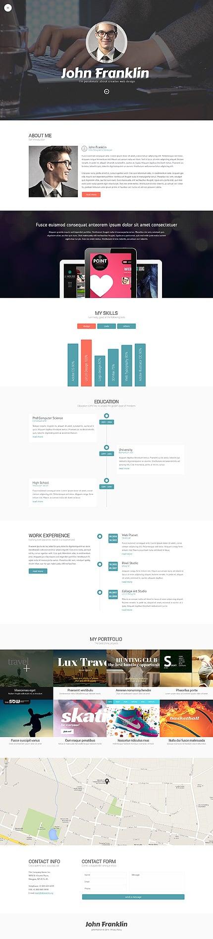 WordPress Theme/Template 49156 Main Page Screenshot