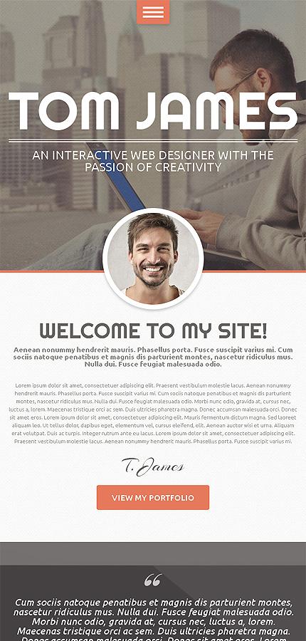 WordPress Theme/Template 49159 Main Page Screenshot