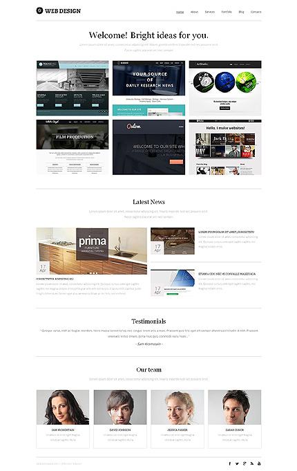 Drupal Template 49162 Main Page Screenshot