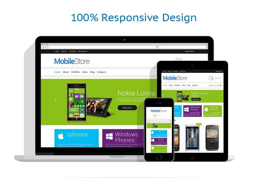 Mobile Repair Service Responsive WooCommerce Theme #49164