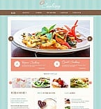 Food & Drink Moto CMS HTML  Template 49170