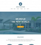 Architecture Moto CMS HTML  Template 49171
