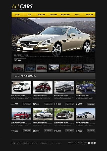 ADOBE Photoshop Template 49173 Home Page Screenshot